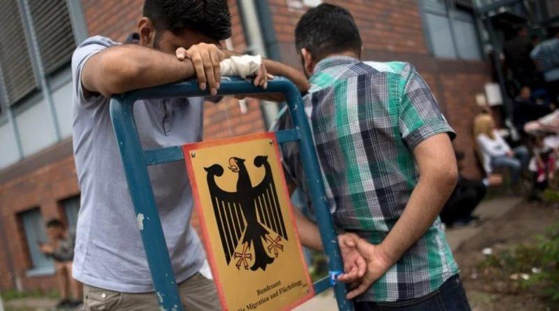 Německo migranti