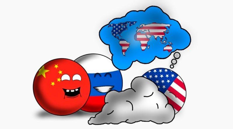 usa, rusko, čína