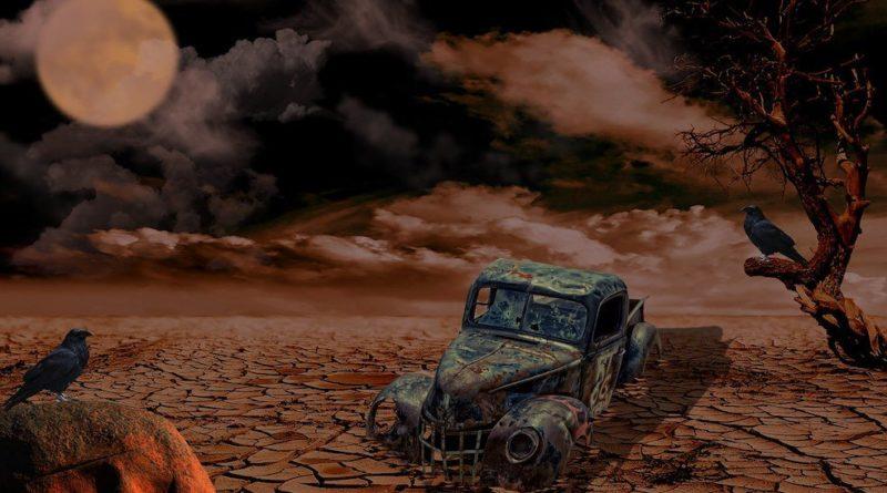zánik civilizace, auto