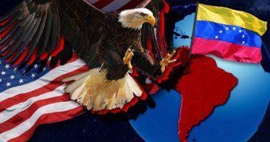 Venezuela Latinská Amerika USA