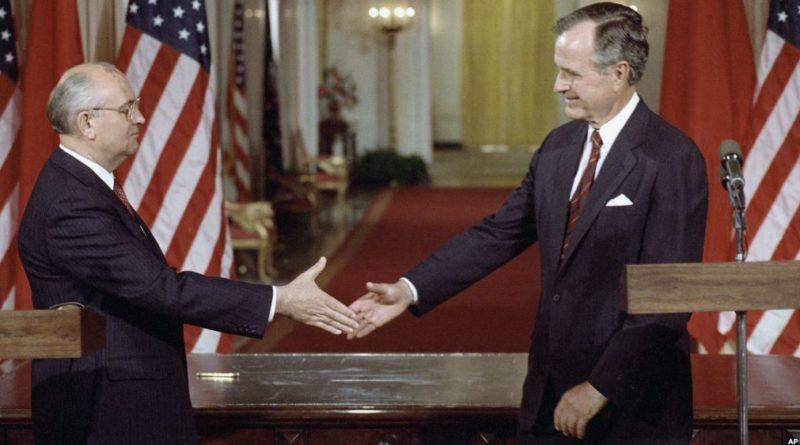 Bush a Gorbačov
