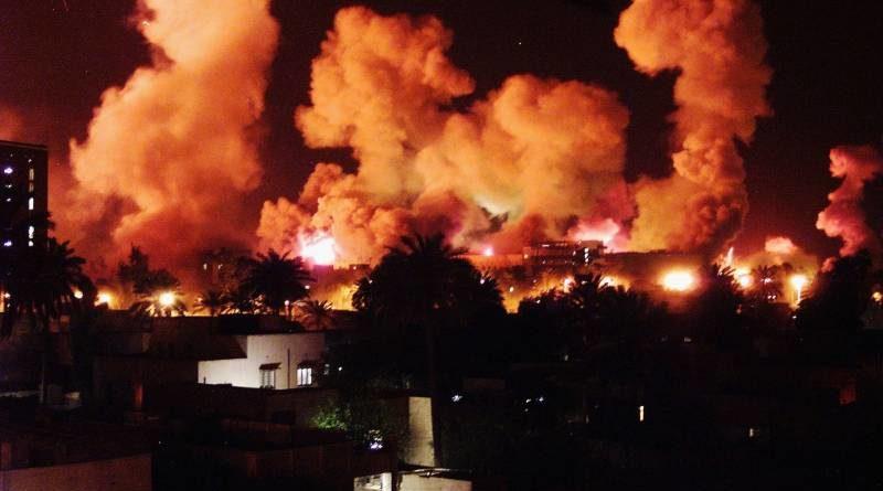 bombardování Íráku