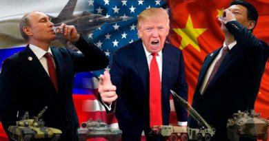Rusko Čína USA