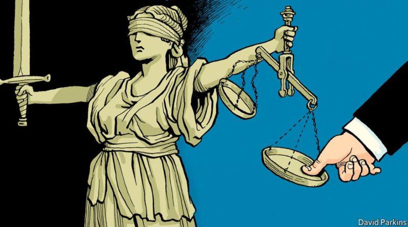 Slepá spravedlnost