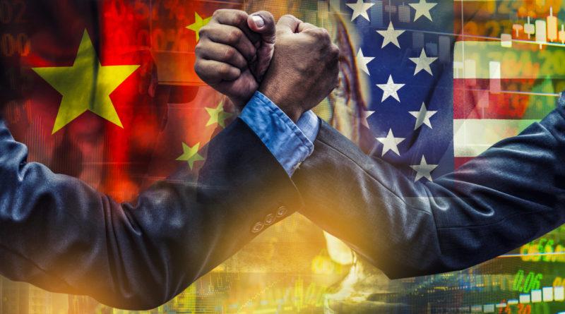 Čína x USA