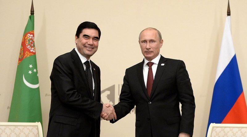 Putin Turkmenistán