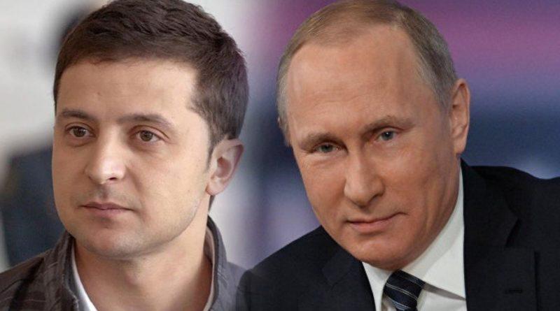 Putin a Zelenský