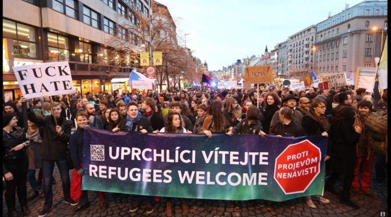 Uprchlíci vítejte