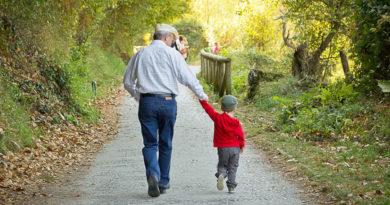 děda a vnuk