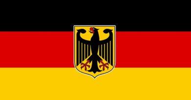 německá vlajka