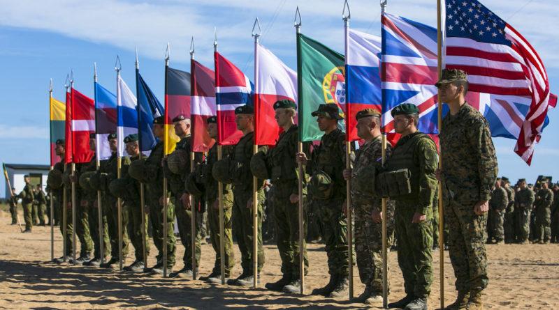 NATO v Pobaltí