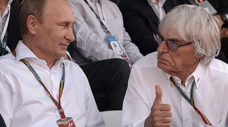 Ecclestone a Putin