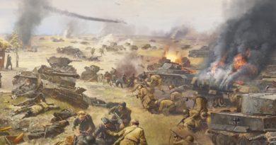 Prochorovka bitva válka kursk