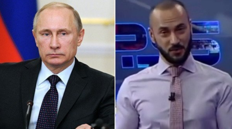 Putin Gruzie