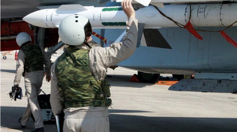 Bojová letka RF v Sýrii | foto: mil.ru Zdroj: https://globe24.cz/svet/69107-asadova-armada-v-bitve-o-idlib-selhava-rusko-musel-nasadit-specialni-jednotky#photoInArticle-33067