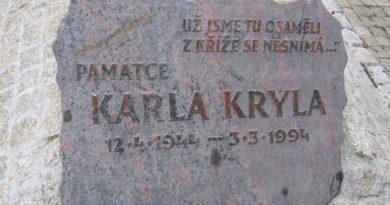 Karel Kryl pamětní deska