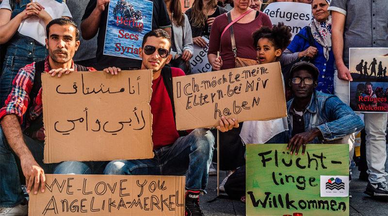 Německo migrace