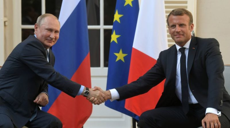 Putin a Macron