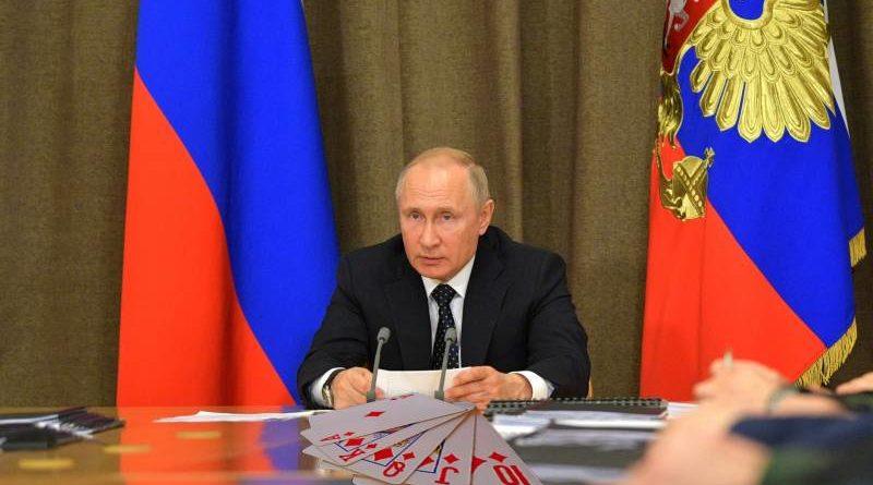 Putin královská hra