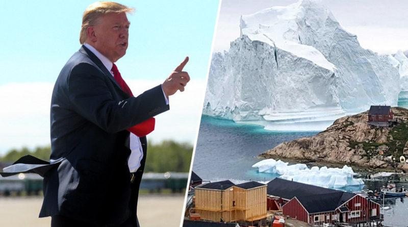 Trump Grónsko