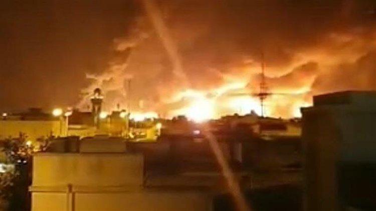 Soudská arábie - oil attack