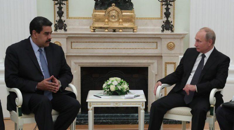Putin a Maduro