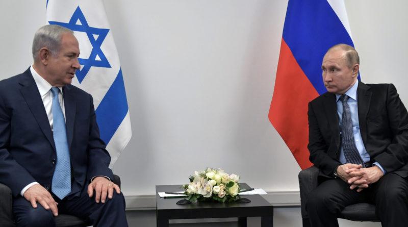Putin a Netanjahu