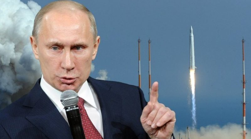 Putin rakety