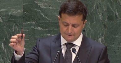 Zelenský v OSN
