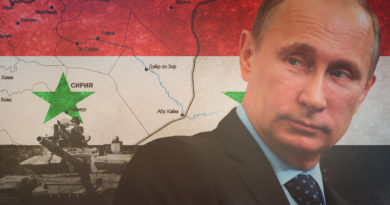 Putin Sýrie