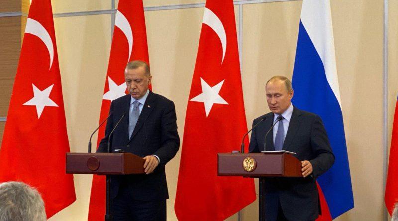 Putin a Erdogan