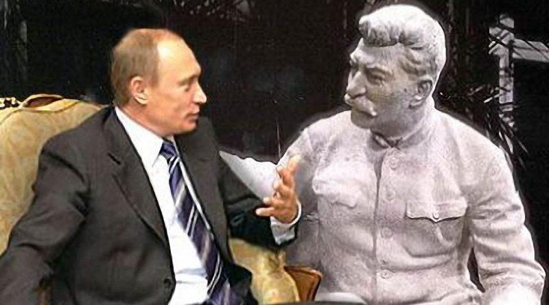 Putin a Stalin