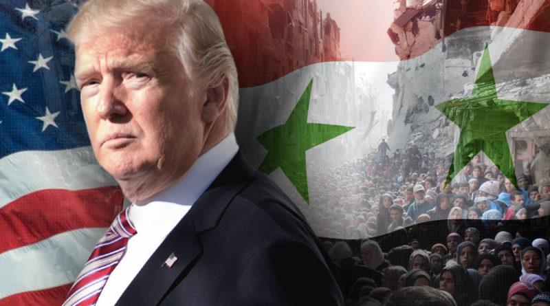 Trump Sýrie