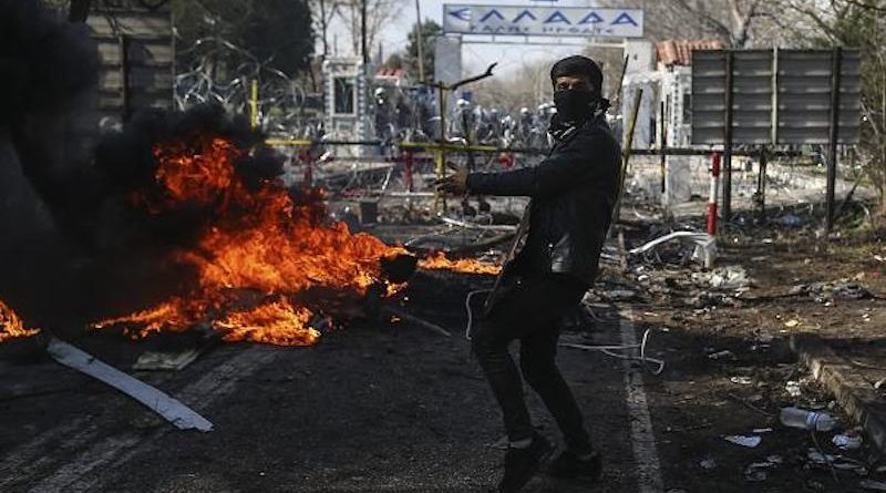 migranti Řecko