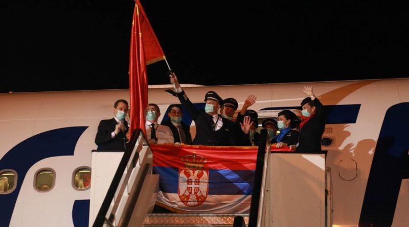 Srbsko - Čína