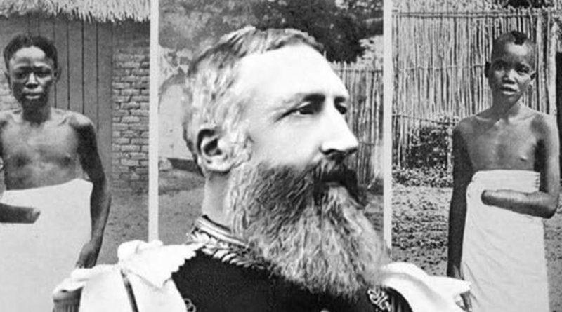 belgický král Leopold Kongo
