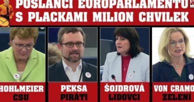 poslanci evropského parlamentu