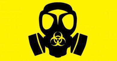 civilní obrana chemická maska