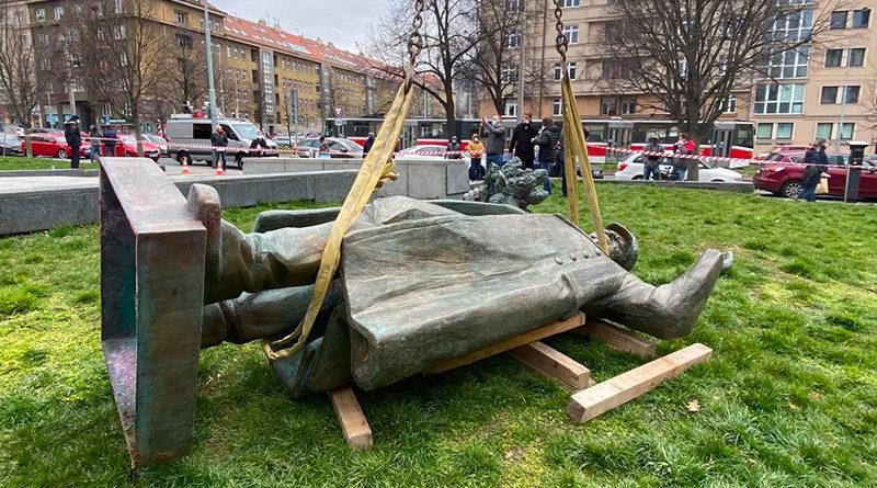 Komentář Velvyslanectví Ruské federace v České republice v souvislosti s demontáží pomníku maršála Koněva, pokec24