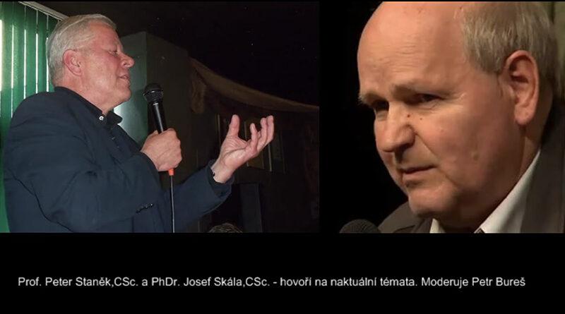 Prof.P.StaněkPhDr.J.Skala CSc
