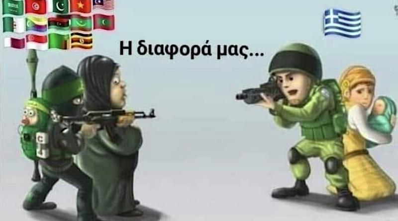 řecko. obrana