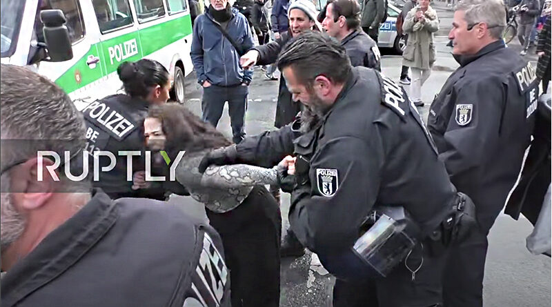 Berlin Coronavir demonstrace