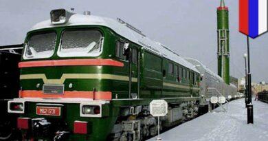 Rusko vlak přízrak raketa Jars, pokec24