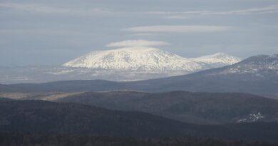 Rusko uralska hora Jamantau