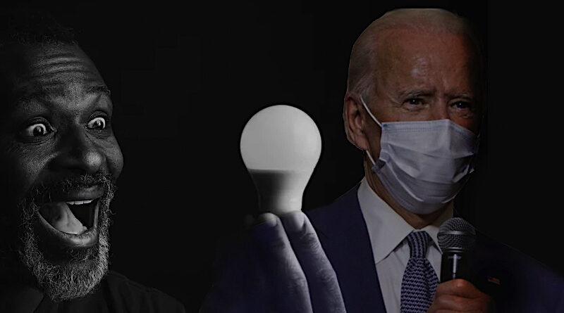 Joea Bidena žárovka černoch, pokec24