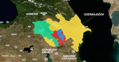 mapa karabach