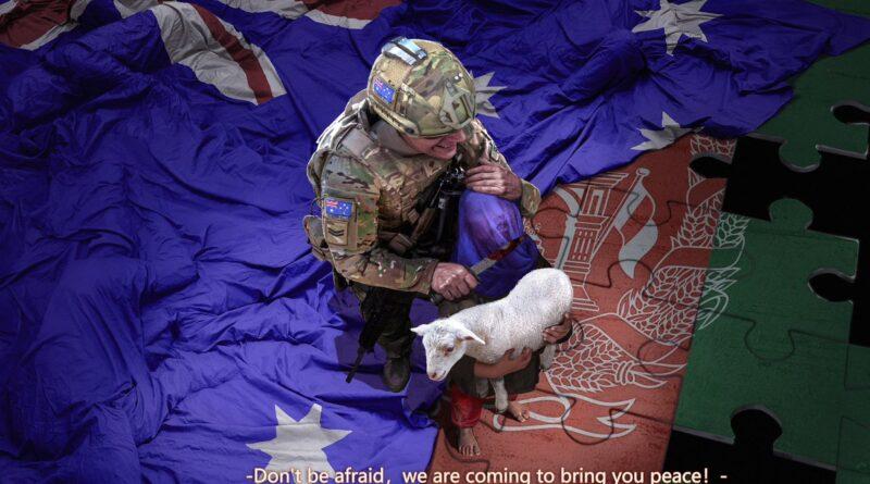 australsky vojak v Afghanistanu