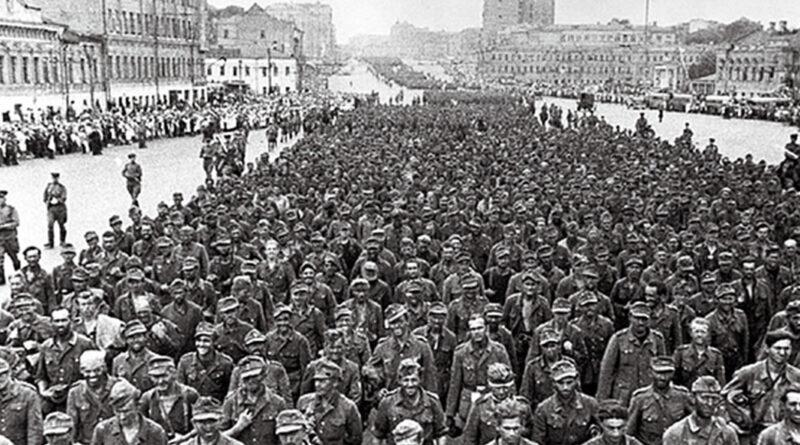 Rusko zajatci v Moskve