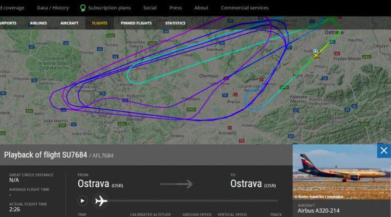 Aeroflot letadlo