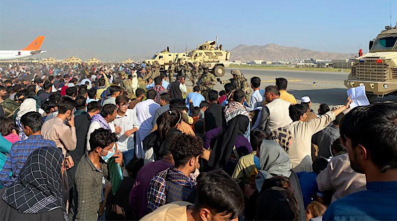 Kabul airport Afghan refuree